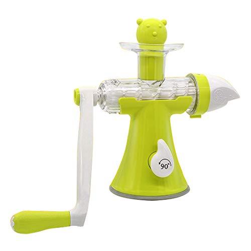 Manual Juicer Hand Citrus Juicer The Original Healthy Manual Masticating Juicer Machine Fruit Vegetable Hand Juicer Citrus Home Kitchen Gadget Manual Lemon Squeezer