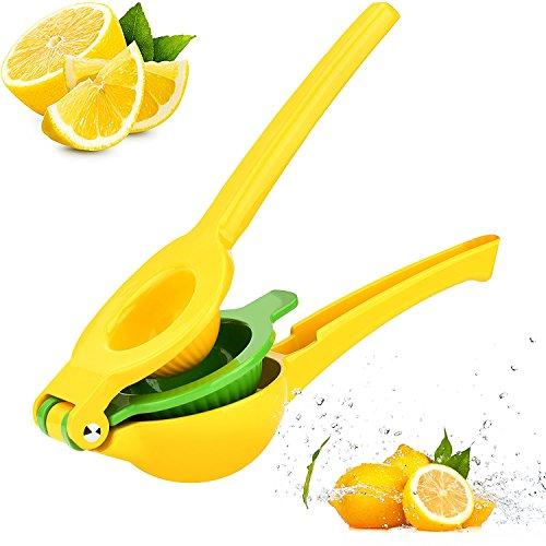 Manual Lemon Squeezer Hand Citrus Orange Squeezer Juicer Lime Press Juicer Passed FDA Approval Premium Quality Aluminum Metal