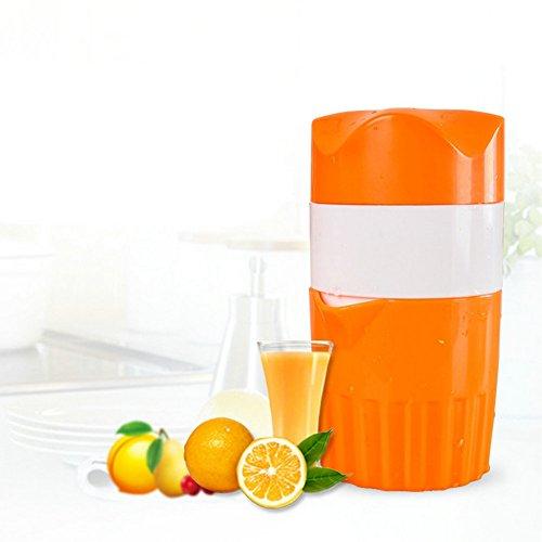 Manual Lid Rotation Juicer BAMONA Portable Plastic Fruit Juicer Hand Press Squeezer Orange