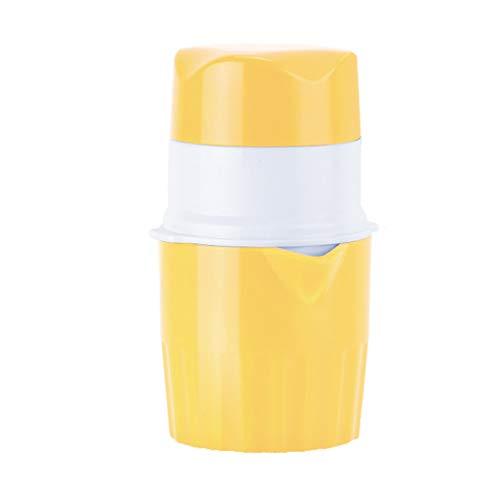Zhaowei Household Simple Mini Fruit Juicer Manual Lemon Orange Squeezer Juicer Press Hand Manual Press Kitchen Yellow