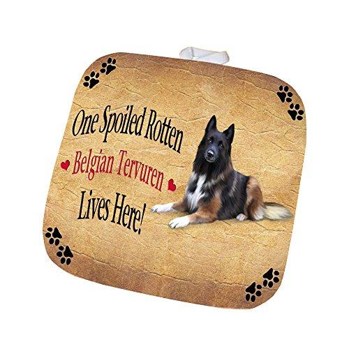 Belgian Tervuren Spoiled Rotten Dog Pot Holder