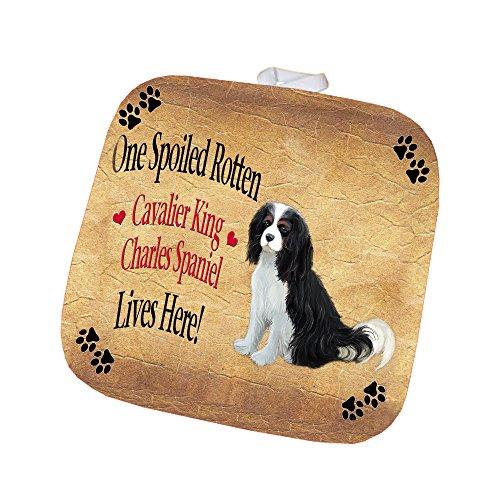 Cavalier King Charles Spaniel Spoiled Rotten Dog Pot Holder