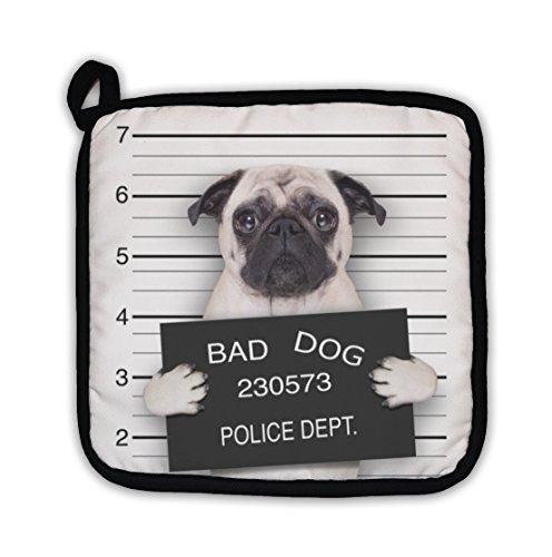 Gear New Mugshot Dog Pot Holder