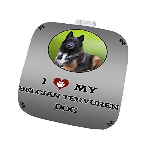 I Love My Belgian Tervuren Dog Pot Holder