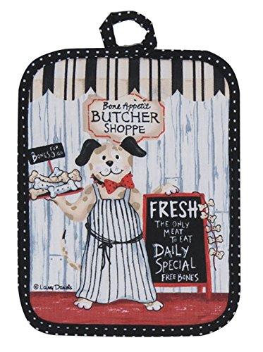 Kay Dee Designs R3192 Butcher Shoppe Dog Potholder