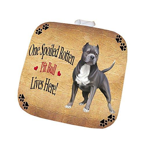 Pit Bull Spoiled Rotten Dog Pot Holder