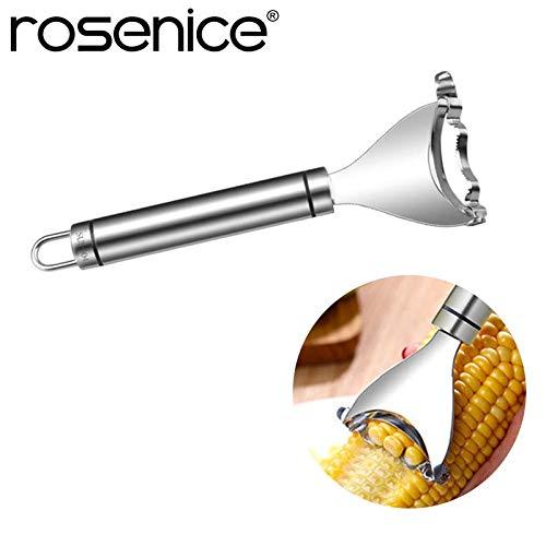 Fiesta ROSENICE Corn Peeler Premium Stainless Steel Kitchen Tool Corn Cutter Cob Peeler Corn Stripper Kernel Cutter