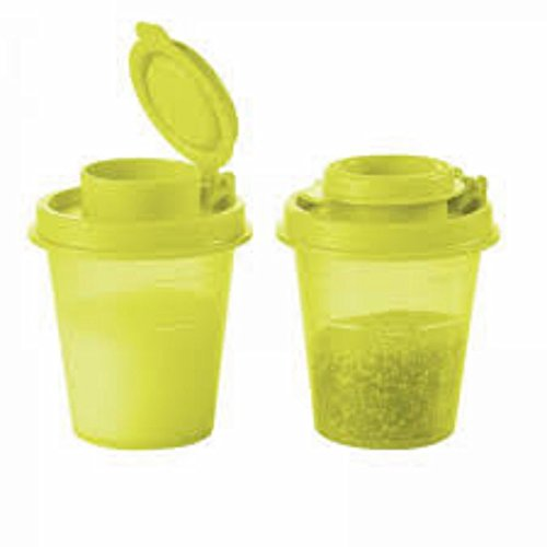 Tupperware Travel Saltnpepper Mini Travel Shakers Midgets NEW