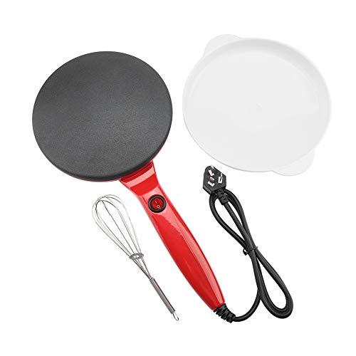 Pancake Maker Electric Round Non-stick Pancake Maker Crepe Machine Frying Pan Pizza Baking Tools 220VRed