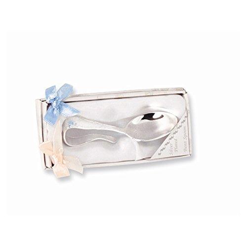 Best Designer Jewelry Silver-plated Babys Bent Handle Spoon