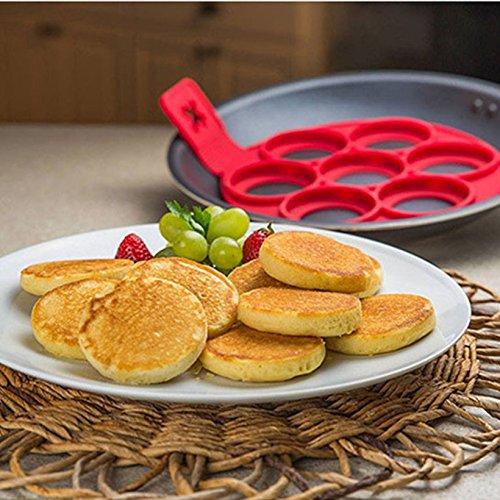 New Non Stick Pancake Pan Flip Breakfast Maker Egg Omelette Baking Tools Perfect Pancakes Pancake Maker