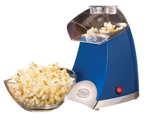 Nostalgia Electrics SPP500BLUE Star Pop Hot Air Popcorn Popper