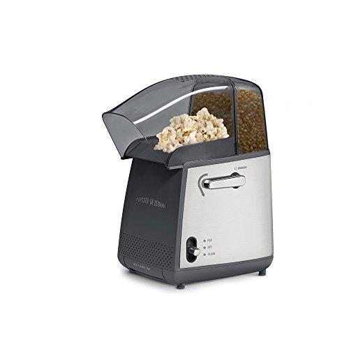 West Bend 82700 Hot Air Popcorn Popper BlackSilver