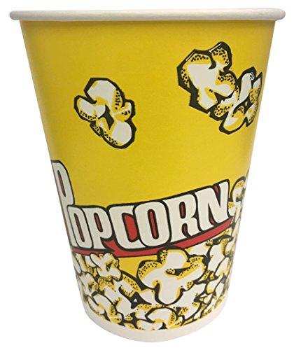 Tankon 500 Piece Unicup Paper Popcorn Bucket 32 oz