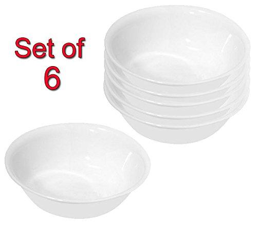 Corelle Livingware SoupCereal Bowl Winter Frost White 18-Ounce 6