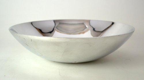 Aluminum Round Large Salad Bowl-15diameter