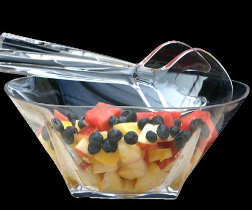Grainware 70250 Savannah Acrylic Large Salad Bowl