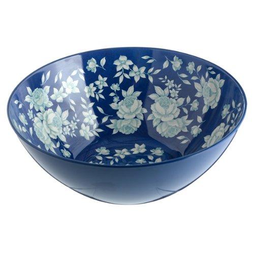 Grasslands Road Spring Settings In The Blue Large Salad Bowl