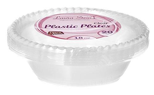 Laura Stein Clear Plastic Bowls 18 Oz - 80 Plastic Bowls