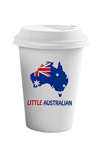 Style In Print Little Australian Coffee Ceramic Travel Tumbler Mug 11oz