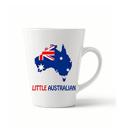 Style In Print Little Australian Coffee Tea Ceramic Latte Mug 12 Oz