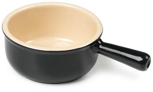 Le Creuset French Onion Soup Bowl   Black Onyx