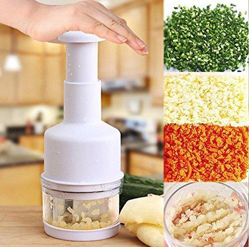 YUFENG Kitchen Pressing Vegetable Onion Garlic Chopper Cutter Slicer Peeler Dicer