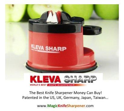 Kleva Sharp Worlds Best Knife Sharpener