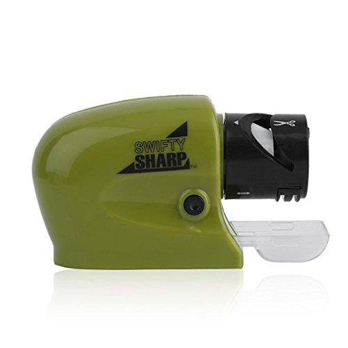 Knife Sharpener Justdolife Knife Electric Sharpener Sharp Cordless for Kitchen BladeDriver