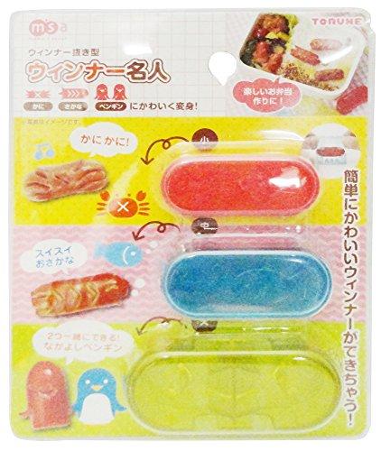 Sausage Cutter Japanese Bento Cute Food Cutter SquidFishCrabsTurtle