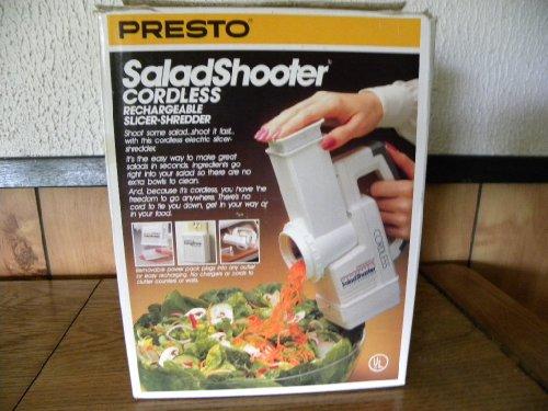 Cordless SaladShooter Rechargeable Slicer Shredder Salad Shooter