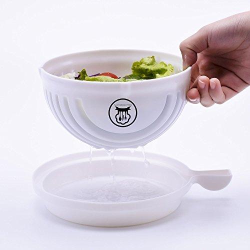 Salad Cutter Bowl - 60 Seconds Salad Maker Fruit Vegetable Bowl Cutter Salad slicer Salad Chopper By MLPRODUCTS