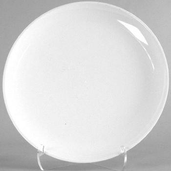 White Serving Platter Round 18-inch