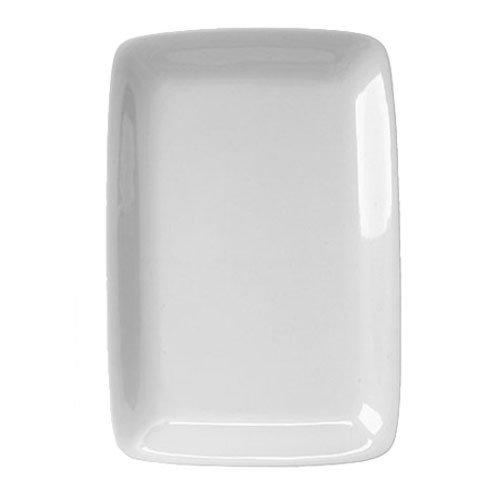 Harold Import 401424 White Porcelain Rectangular Platter 8x1225