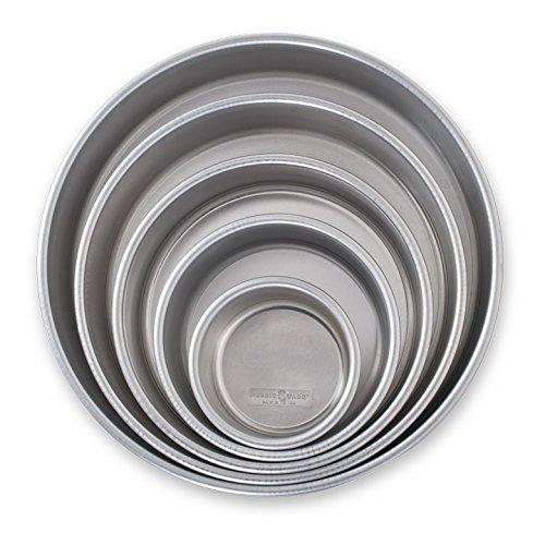 Nordic Ware 45425 Naturals Aluminum Bakeware Layer Cake Pan Silver