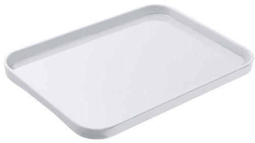 Lustroware K-201 MW Melamine Serving Tray Medium White
