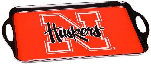 NCAA Nebraska Cornhuskers Melamine Serving Tray
