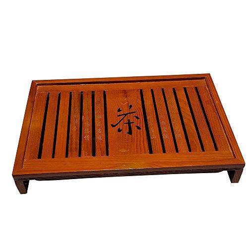 Bamboo GongFu Tea Serving Tray L17 x W11 x H25