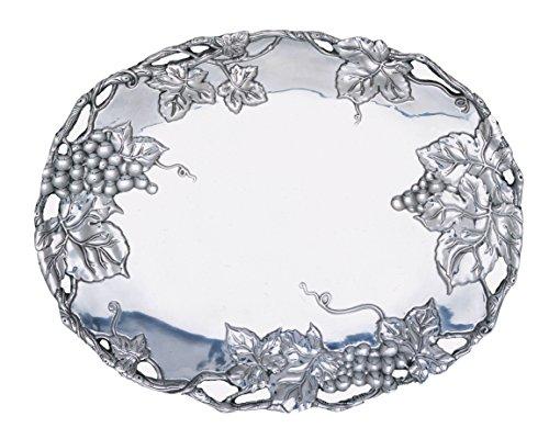 Arthur Court Grape 18-12-Inch Oval Platter