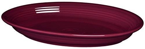 Fiesta 13-58-Inch Oval Platter Claret