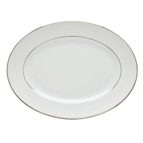 Lenox Venetian Lace Oval Platter 16-Inch