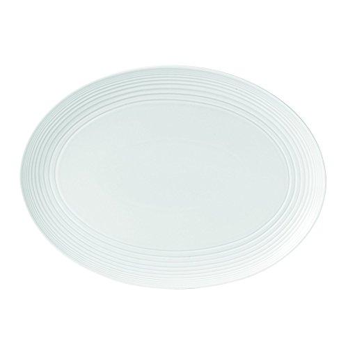 Royal Doulton Maze Oval Platter 17 White