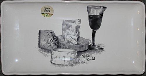 Effetti dArte Ceramic Cheese Platter - Approx 165 x 85