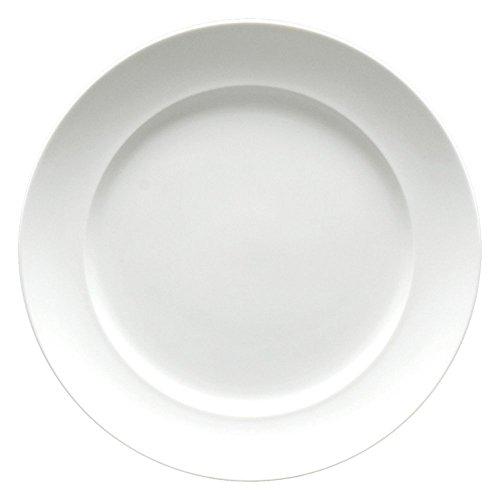 Fortessa Fortaluxe SuperWhite Vitrified China Dinnerware Cassia 8-Inch SaladDessert Plate Set of 6
