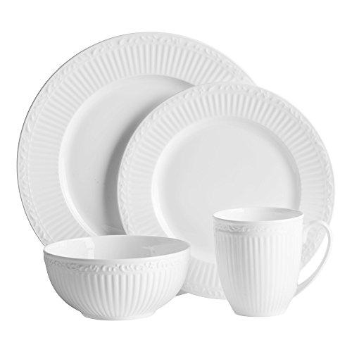 Mikasa Italian Countryside Bone China 48 Piece Dinnerware Set Service for 12