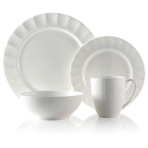 Roscher 32-piece Bone China Dinnerware Set White