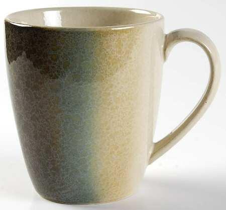 Sango Nouveau-Teal Mug Fine China Dinnerware