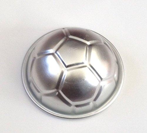 Baking Mould Metal Soccer Ball Aluminium Cake Cupcake Mold Pan Sport Decorating Fondant Paste Jello Tray Bread Sugar Crafts Chocolate Candy Mold