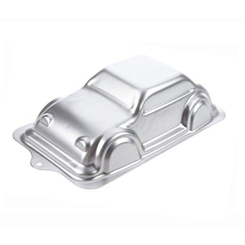 WJSYSHOP 10 Inch Car Shaped Aluminum 3D Cake Mold Baking Mould Tin Cake Pan - Car