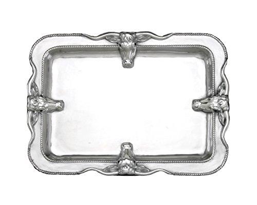 Arthur Court Designs Longhorn Large Platter
